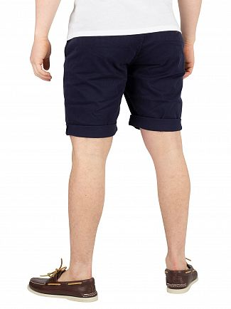 Tommy Jeans Black Iris Navy Essential Chino Shorts