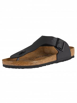 Birkenstock Black Ramses BS Leather Sandals