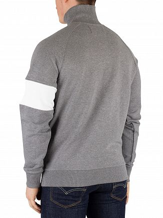 Calvin Klein Jeans Grey Heather Institutional Logo Sweater