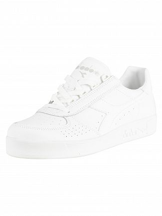 Diadora White Optical B. Elite Leather Trainers