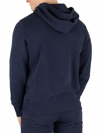 Diadora Blue Denim Graphic Pullover Hoodie