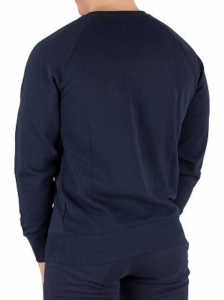Diadora Blue Denim Graphic Sweatshirt