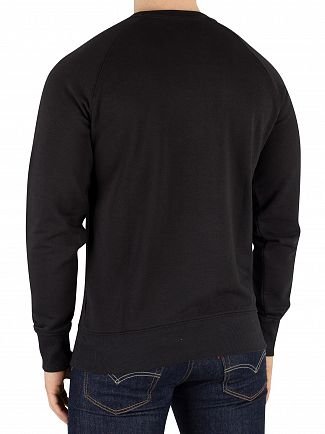 Diadora Black/Optical White Graphic Sweatshirt