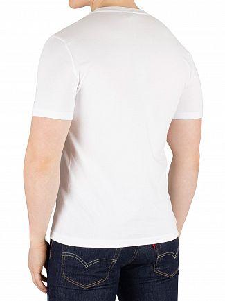 Diadora Optical White/Deep Ultram Graphic T-Shirt
