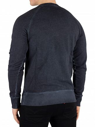Diadora Blue Denim Spectra Sweatshirt