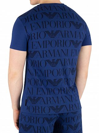 Emporio Armani Bluette Crew Neck T-Shirt