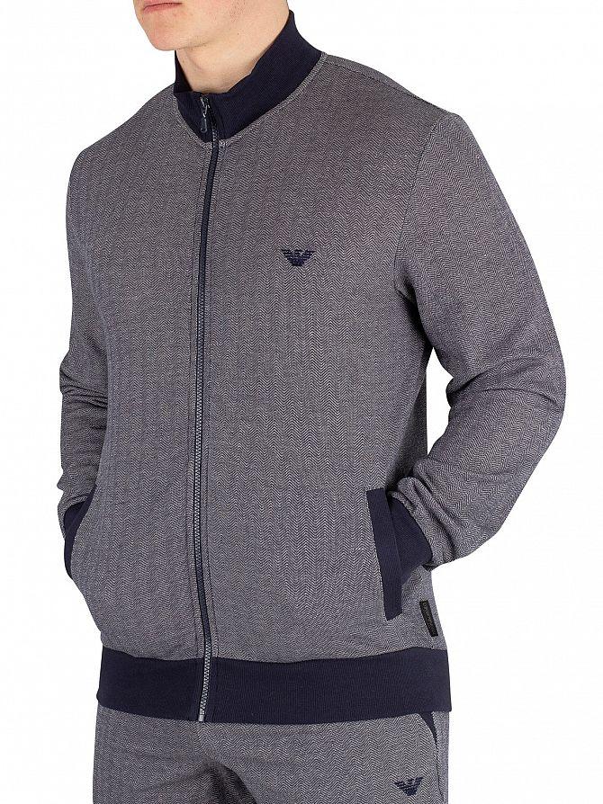 Emporio Armani Marine Zipped Pyjama Top