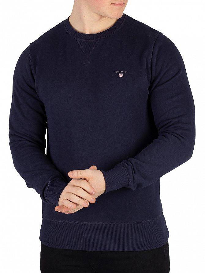 Gant Evening Blue Original Sweatshirt