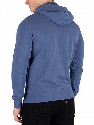 Gant Hurricane Blue Original Zip Hoodie