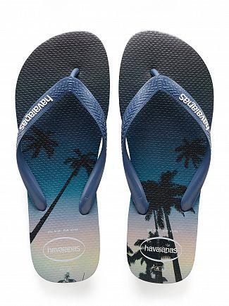 Havaianas Navy/Blue Hype Flip Flops