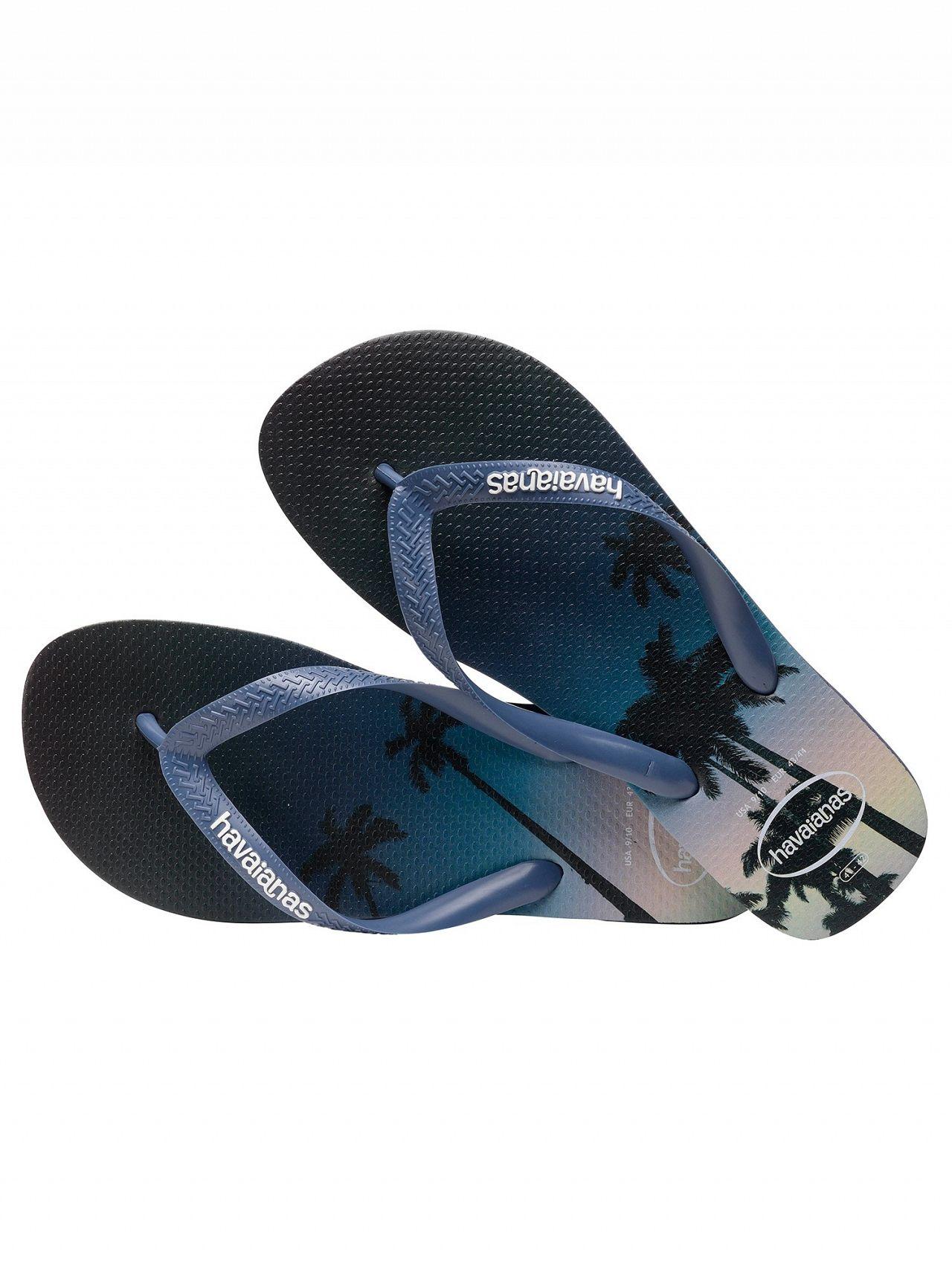 c5b7f6136 Havaianas Navy Blue Hype Flip Flops