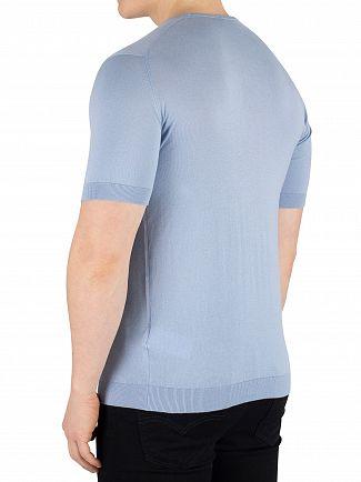 John Smedley Dusk Blue Belden T-Shirt