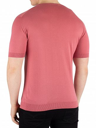 John Smedley Azalea Pink Belden T-Shirt