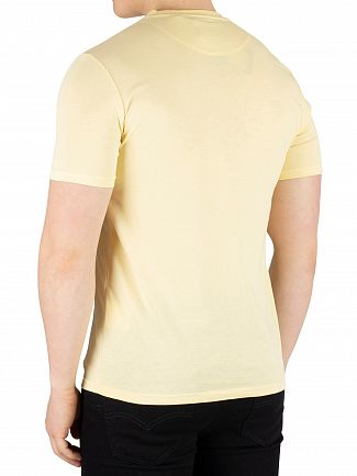 Lyle & Scott Vanilla Cream Crew Neck T-Shirt