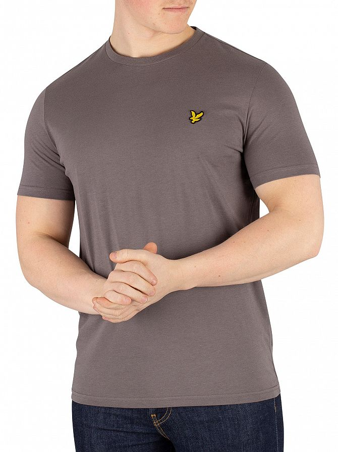 Lyle & Scott Pelican Grey Crew Neck T-Shirt