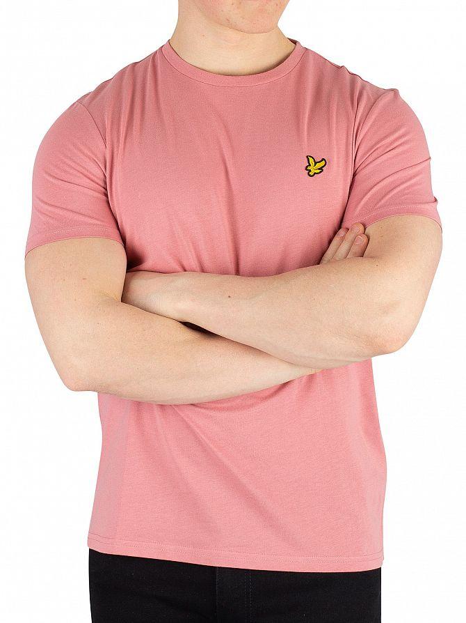 Lyle & Scott Pink Shadow Crew Neck T-Shirt