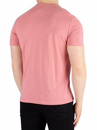 Lyle & Scott Pink Shadow Crew Neck T-Shirt
