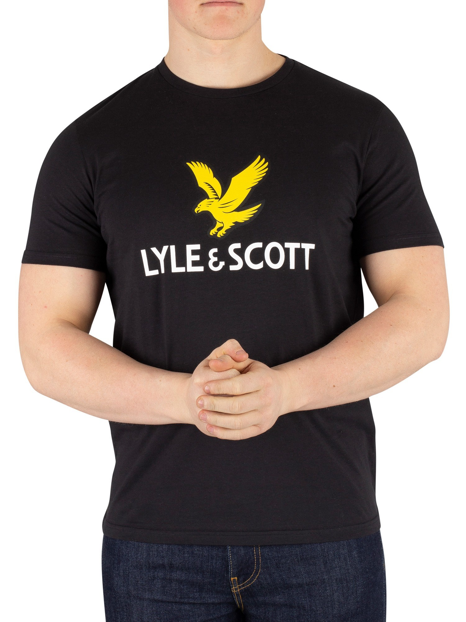 Lyle & Scott Golden Eagle Black