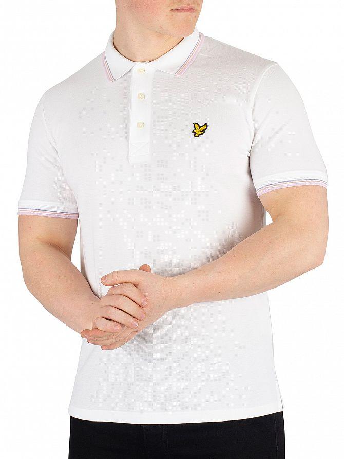 Lyle & Scott White Tipped Poloshirt