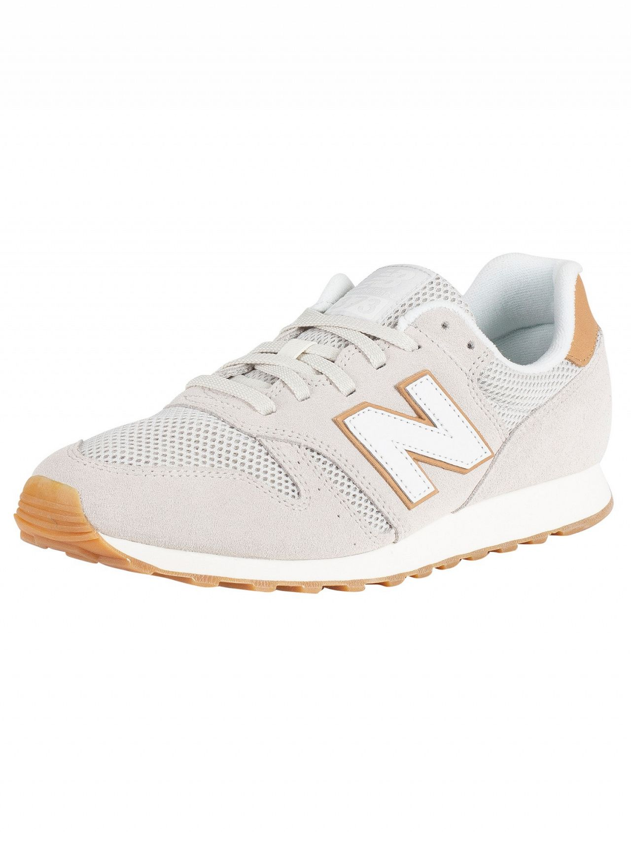 cc489fad00 New Balance Beige/Tan 373 Suede Trainers