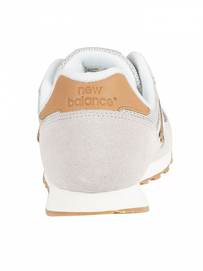 Detalles de Gamuza Para hombre 373 New Balance entrenadores, Beige ver título original