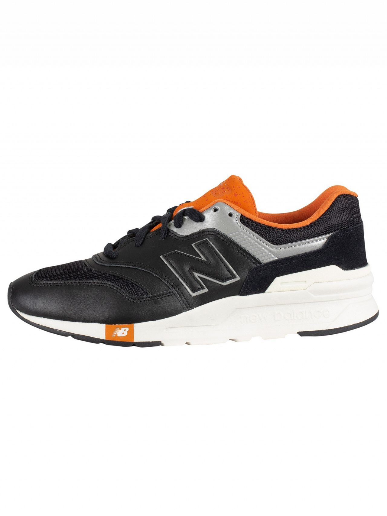 new balance 997h black orange