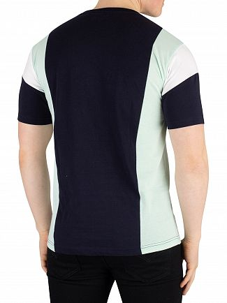 Nicce London Deep Navy/Mint Homewood T-Shirt