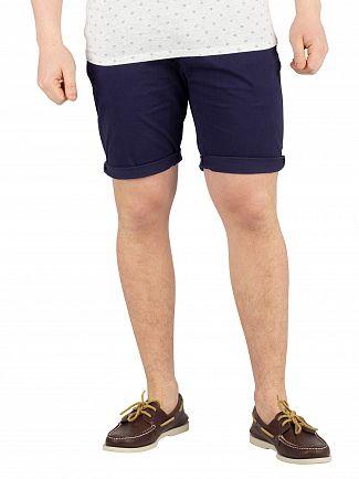 Scotch & Soda Navy Chino Shorts