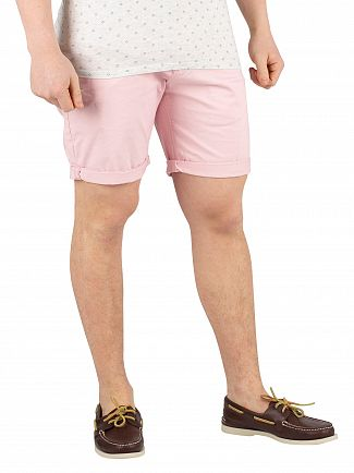 Scotch & Soda Faded Pink Chino Shorts
