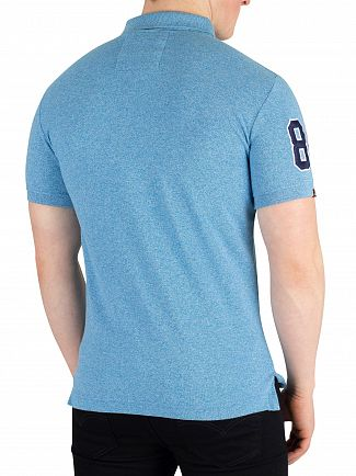 Superdry Sea Spray Grit Classic Pique Poloshirt