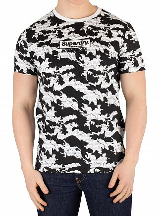 Superdry Optic International Monochrome T-Shirt