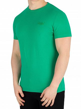 Superdry Prime Green Orange Label Lite T-Shirt