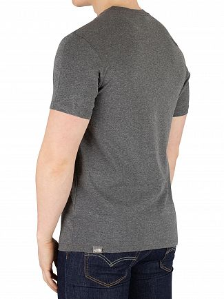 The North Face Medium Grey Heather Fine T-Shirt