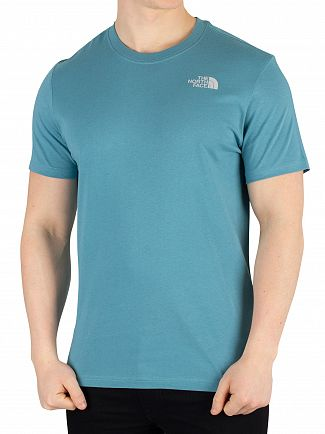 The North Face Storm Blue Redbox T-Shirt