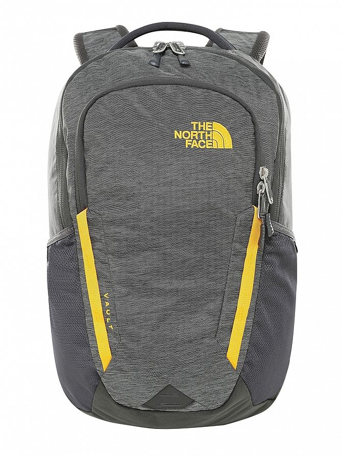 The North Face Grey Asphalt Vault Backpack