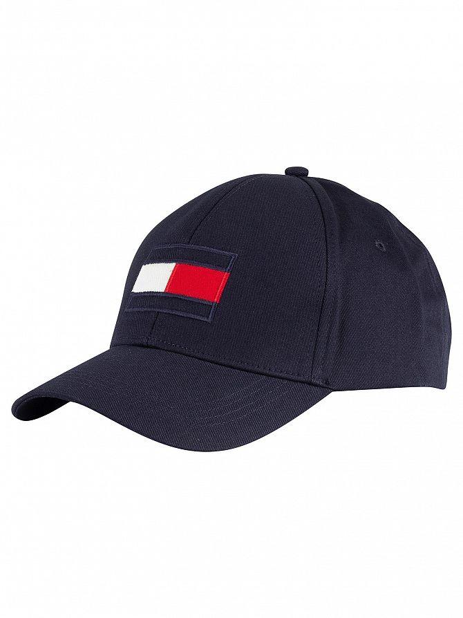 Tommy Hilfiger Navy Big Flag Cap