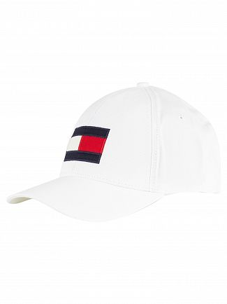Tommy Hilfiger Bright White Big Flag Cap