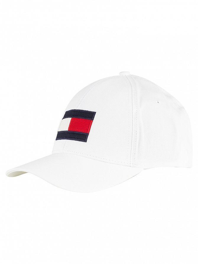 Tommy Hilfiger Bright White Big Flag Cap