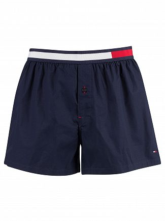 Tommy Hilfiger Navy Blazer Colour Block Woven Trunks