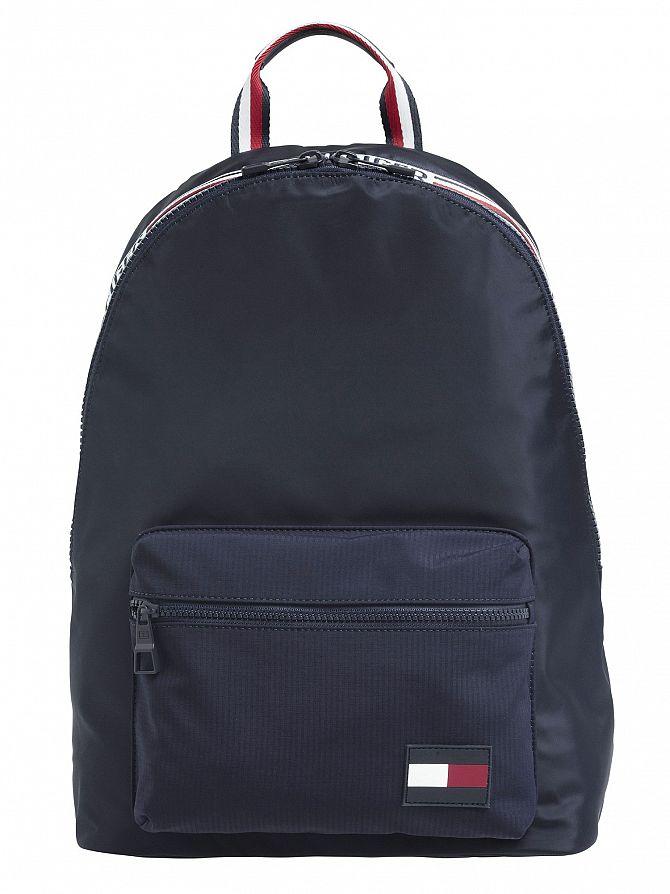 Tommy Hilfiger Navy Sport Tape Backpack