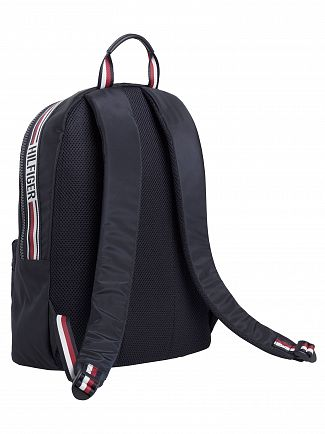 Tommy Hilfiger Navy Sport Tape Backpack