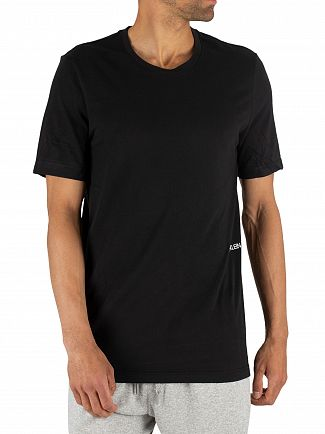 Calvin Klein Black 2 Pack Crew Neck T-Shirt