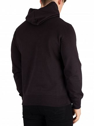 Champion Black Graphic Pullover Hoodie