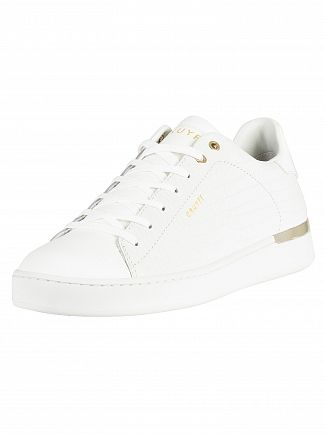 Cruyff White Patio Leather Trainers