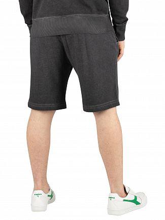 Diadora Black Palle Sweat Shorts