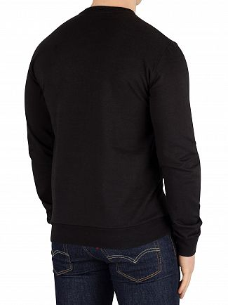 EA7 Black Graphic Sweatshirt