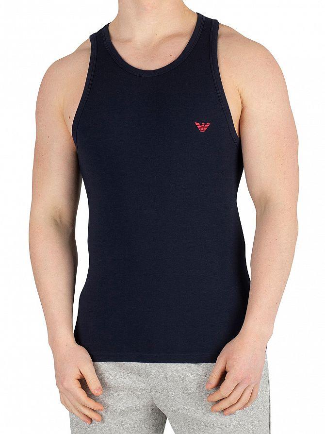 Emporio Armani Marine Stretch Cotton Vest