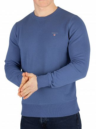 Gant Hurricane Blue Original Sweatshirt