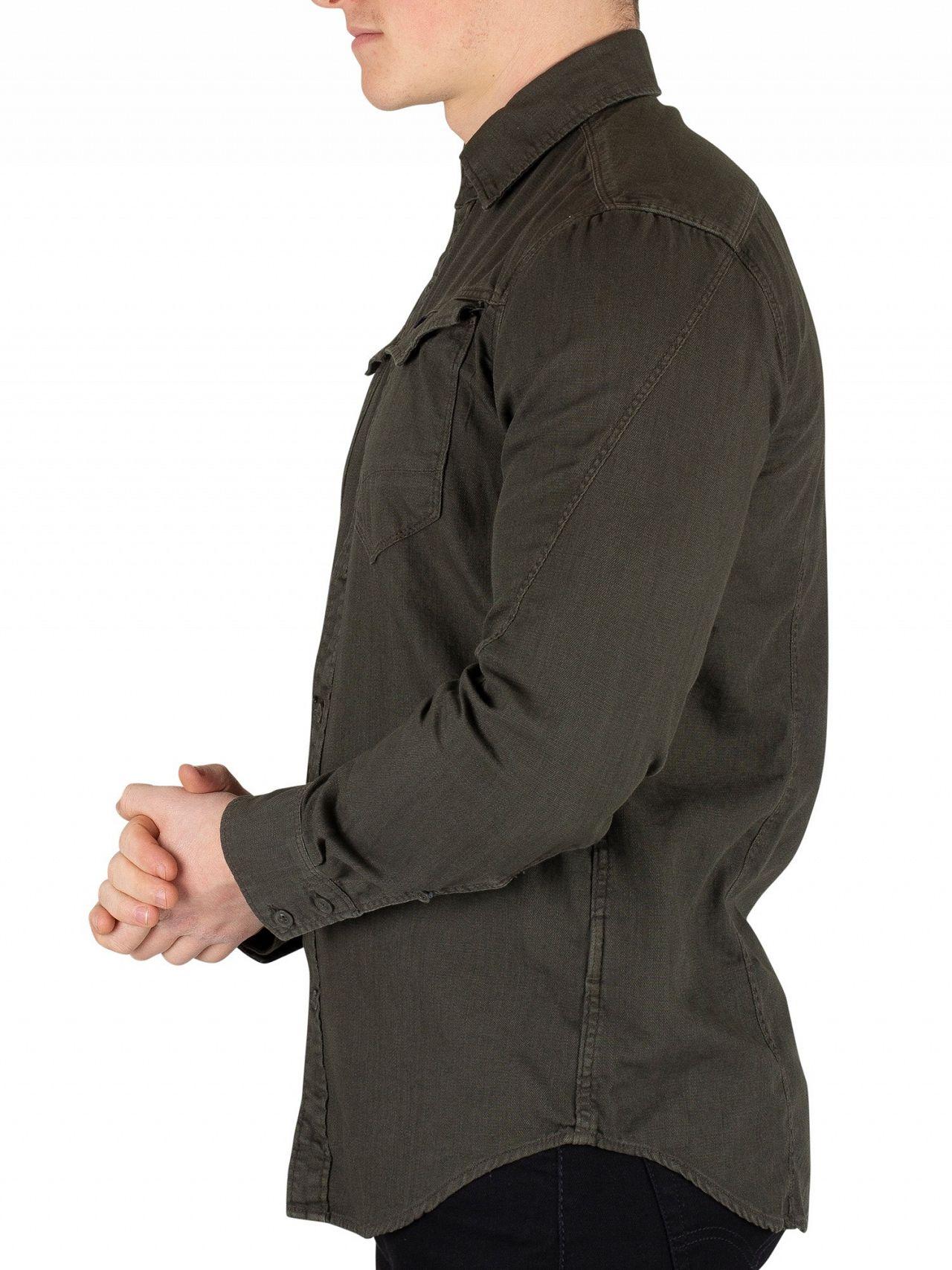 33d95b2453d504 G-Star Asfalt Arc 3D Slim Shirt   Standout