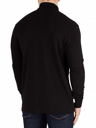 G-Star Dark Black Starkon Longsleeved Poloshirt